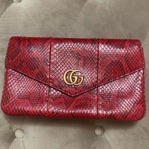 Limited Edition Gucci Python Two-Sided Bag
